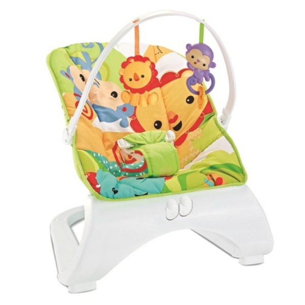 Bebe Stars Музикален шезлонг Baby Rocker  Monkey&Lion 317-175